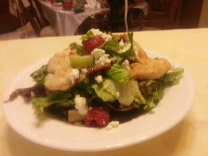 Beautiful Garlic Grilled Chicken Salad w/Raspberry Poppy Seed Vinaigrette